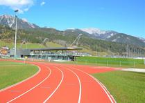 Schladming Athletic Area1: Schladming Athletic Area1 (© Swietelsky)